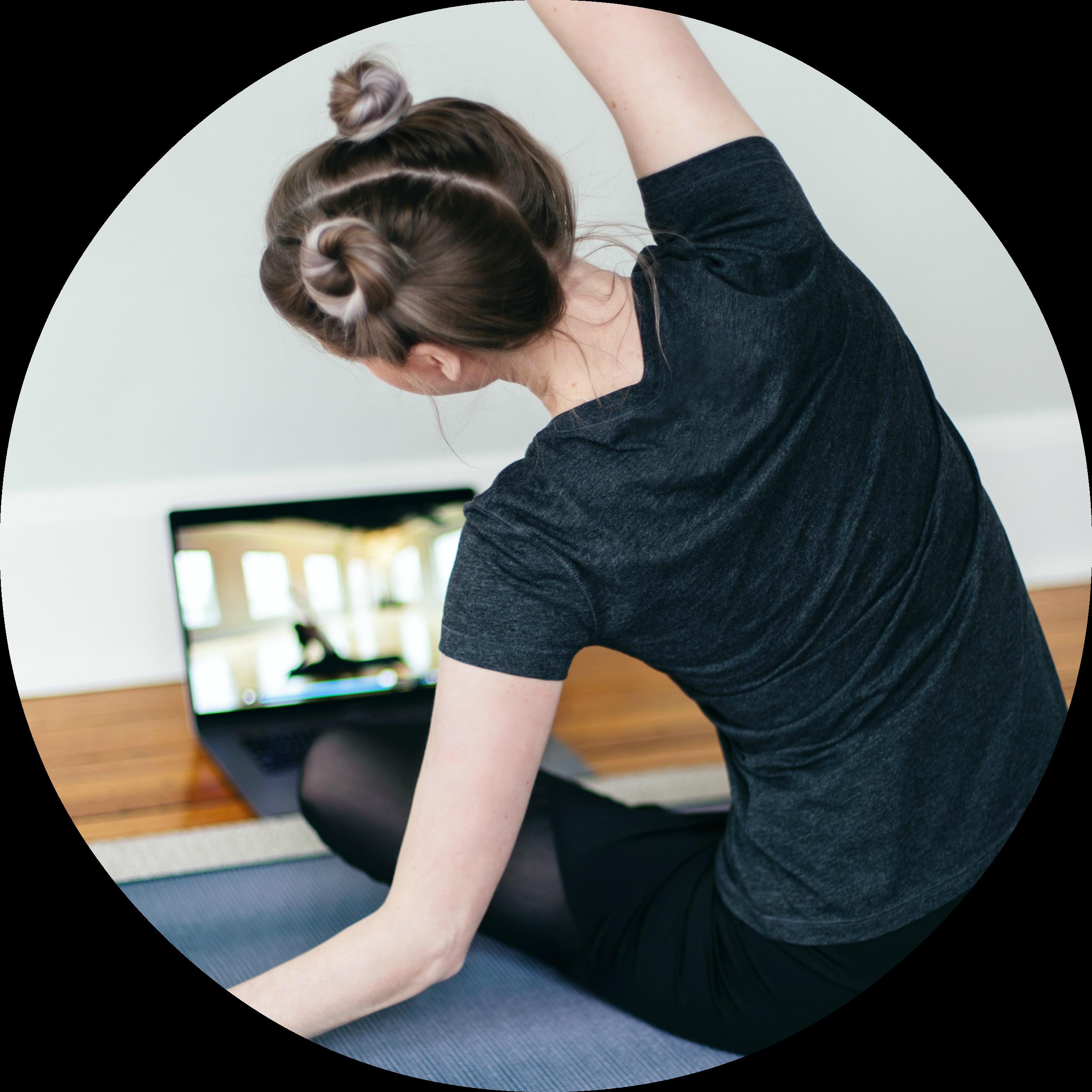 Live Online Private Yoga
